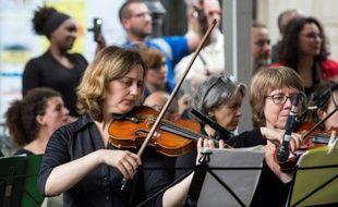Fête de la musique, le 21 juin 2016 à Paris
