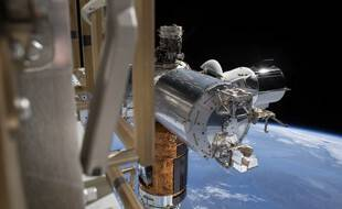 La Station spatiale internationale depuis l'ISS.