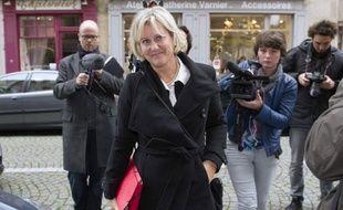 """L'ex-ministre UMP Nadine Morano a estimé mercredi que le ministre de l'Intérieur, Manuel Valls, était """"le seul qui s'en sorte"""" au gouvernement parce qu'il """"essaye de faire du Sarkozy en apparence""""."""