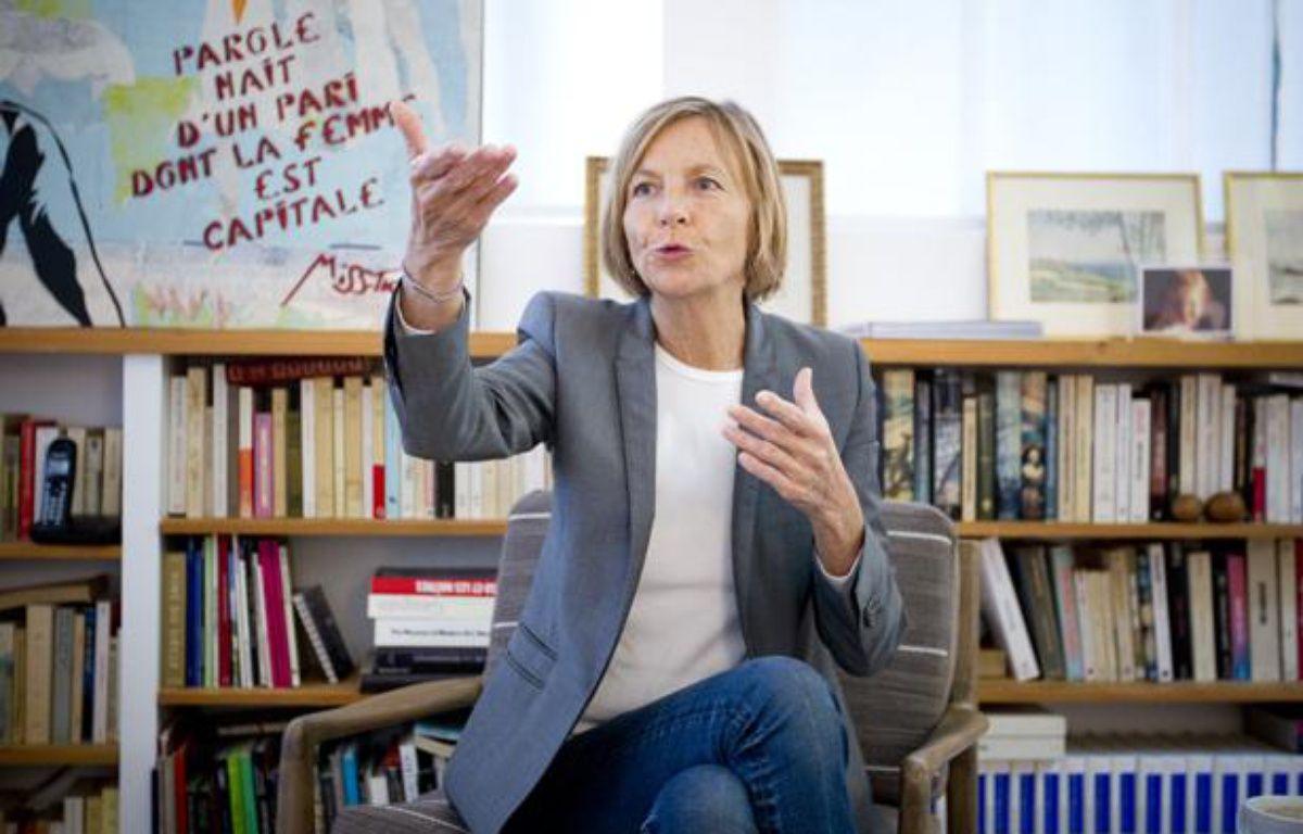 Marielle de Sarnez, vice-présidente du Mouvement démocrate (MODEM), le 23 juin 2013 à Paris. – V. WARTNER / 20 MINUTES