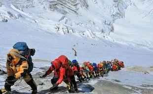Une expédition à l'assaut de l'Everest en 2019. (archives)