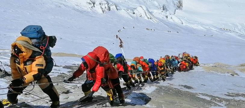 Une expédition à l'assaut de l'Everest en 2019. (archives)