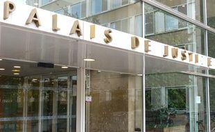 Le palais de justice de Lyon Illustration.