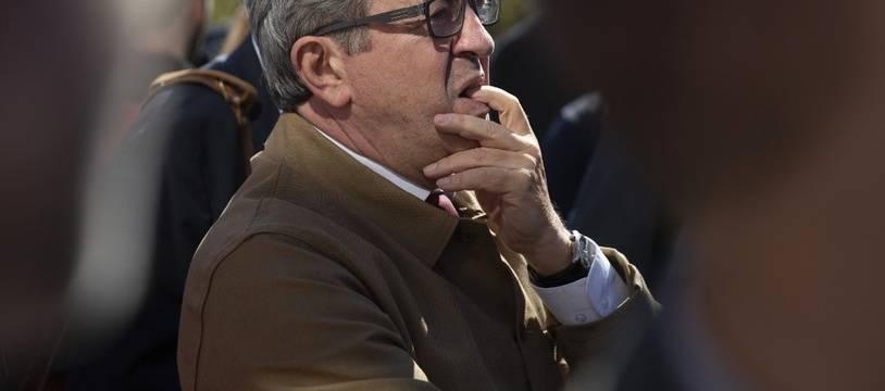 Jean-Luc Mélenchon à Bobigny le 19 septembre 2019.