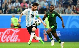 Leo Messi a mis un but assez fou face au Nigeria.