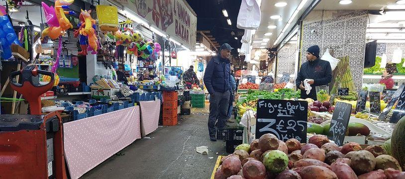 Le marché aux puces de Marseille