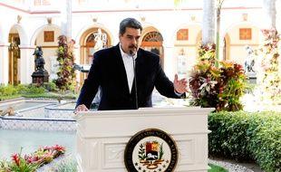 Le président vénézuélien Nicolas Maduro a annoncé des mesures contre le coronavirus le 15 mars 2020.