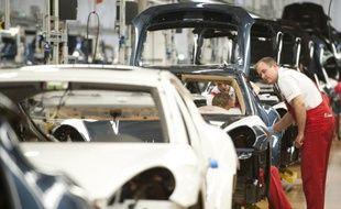 La production industrielle en Allemagne a reculé de 1,3% en février sur un mois, une baisse plus forte que prévu, selon un chiffre provisoire, ajusté des variations saisonnières et calendaires, publié jeudi par le ministère fédéral de l'Economie.