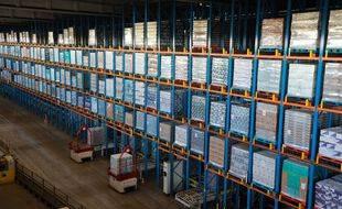 Le Royaume-Uni a décidé de reporter encore une fois le contrôle douanier des marchandise importées depuis l'Union européenne contrôle des marchandise. (Illustration)