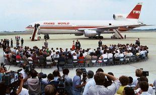 Les passagers de l'avion de la TWA détournée en 1985 avaient été accueillis le 2 juillet par le président américain Ronald Reagan