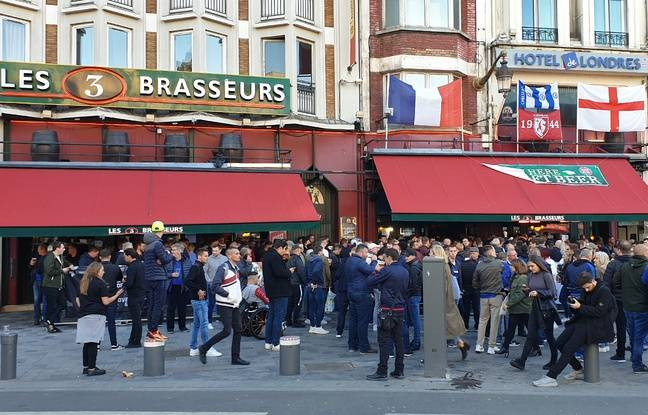 Losc-Chelsea: La guerre des supporters n'a pas eu lieu à Lille