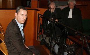 Jacques Viguier lors de l'ouverture de son procès le 20 avril 2009 à Toulouse