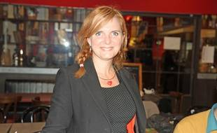 La candidate EELV à Montpellier Clothilde Ollier