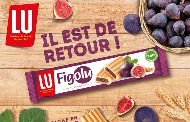 Visuel annonçant le retour du Figolu