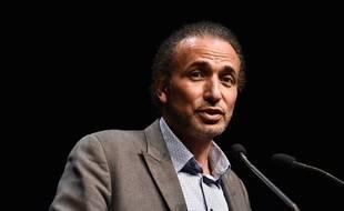 Tariq Ramadan, lors d'une conférence en 2016 à Bordeaux