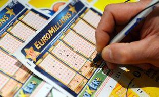 Euromillions, illustration.