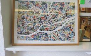 La carte d'Antoine Corbineau