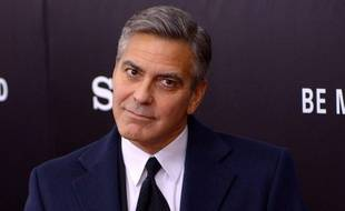 George Clooney, le 5 février 2014, à New York.
