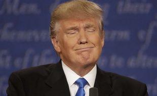 Le républicain Donald Trump lors du débat face à Hillary Clinton, le 26 septembre 2016.