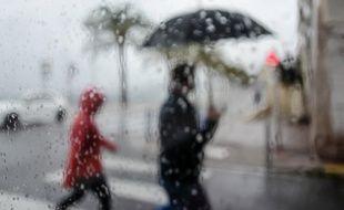 C'est un jour de pluie (mais à Nice au début de l'année, illustration)