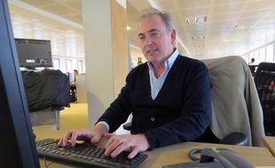 Philippe Risoli en chat à la rédaction de «20 Minutes», le 26 février 2015.