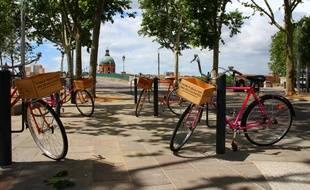 L'association Cycles-Re va créer un atelier d'insertion qui réalisera des bicyclettes à partir des vélos mis au rebut.
