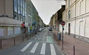 La rue de Valmy, dans le centre-ville de Lille.