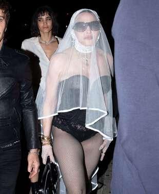 Madonna, le 12 septembre, à New York.
