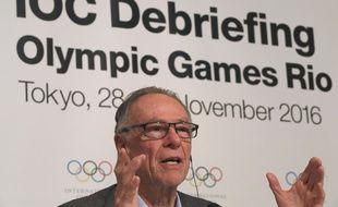 Carlos Nuzman, le président des JO 2016 de Rio, lors d'une conférence de presse le 30 novembre 2016.