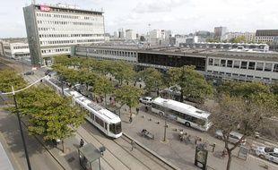 Les faits se sont déroulés devant la gare nord de Nantes