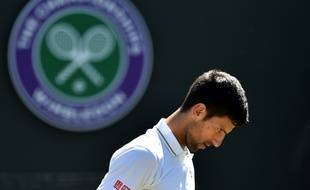 Djokovic a la tête basse après sa défaite