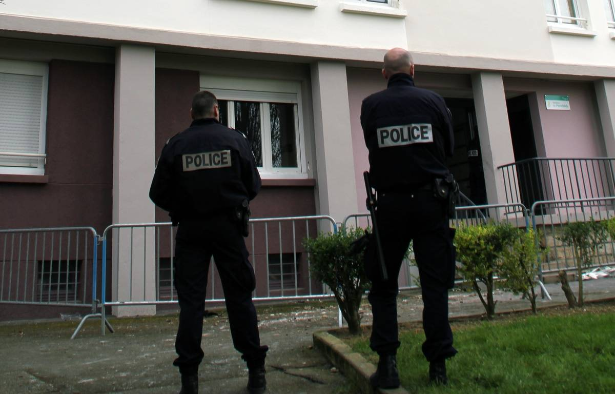 Illustration de policiers, ici à Rennes.  – C. Allain / APEI / 20 Minutes