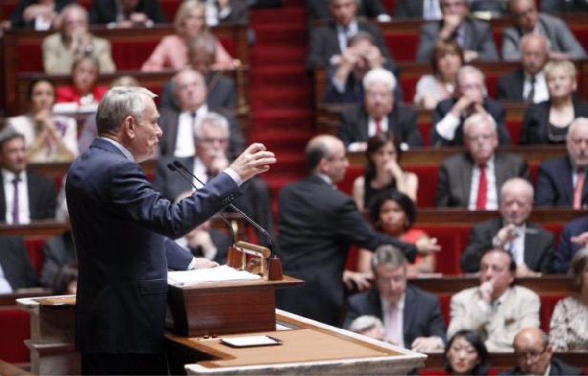 Jean-Marc Ayrault prononce son discours de politique générale le 3 juillet 2012 à L'Assemblée nationale – CHESNOT/CHAMUSSY/SIPA