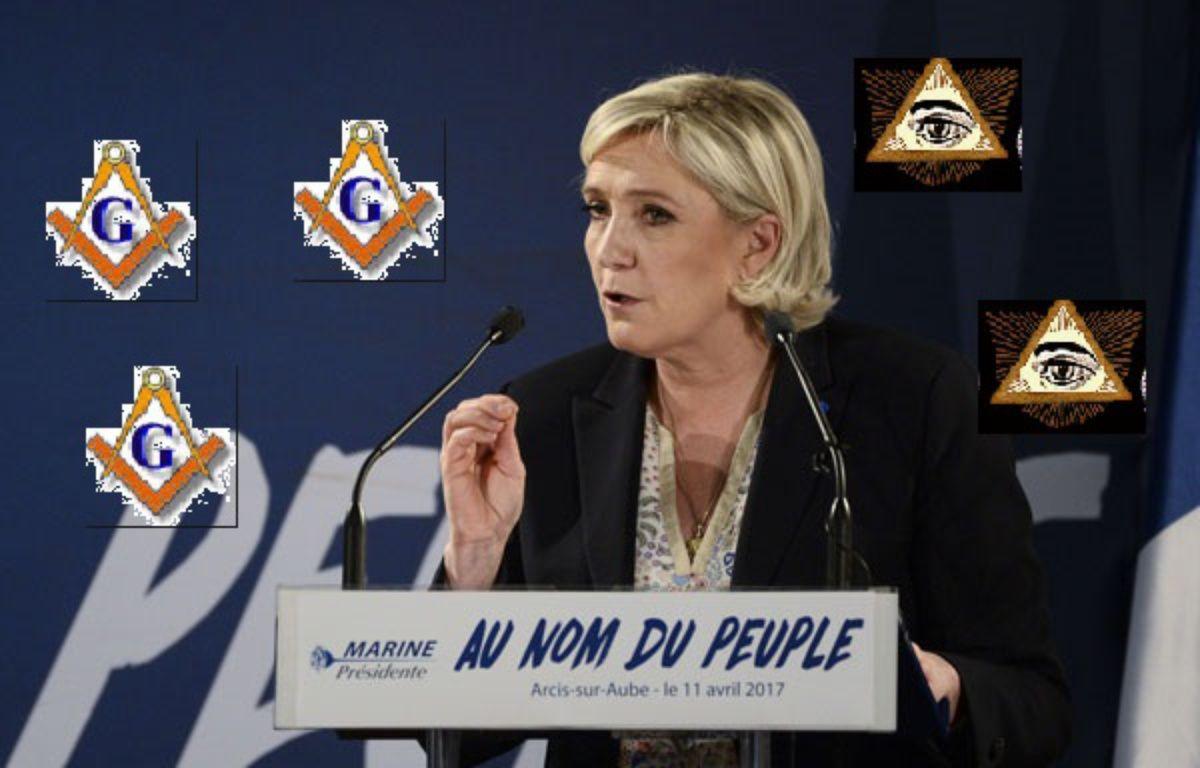 Marine Le Pen et un montage douteux.  – Kamil Zihnioglu/AP/SIPA