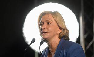 Valérie Pécresse en meeting à Boulogne-Billancourt le 19 juin.