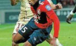 Djibril Sidibé a marqué des points.