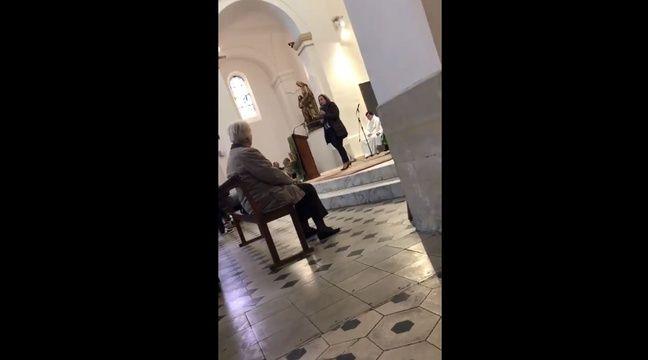 Un discours des équipes de Martine Vassal dans une église à Marseille ?