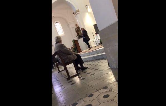 Municipales 2020 à Marseille: Les équipes de Martine Vassal ont-elles tenu un discours politique dans une église?