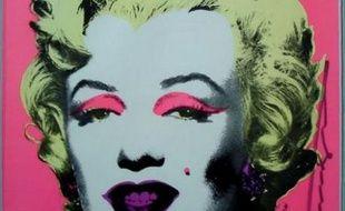 """Une """"Marilyn"""" d'Andy Warhol mise aux enchères"""