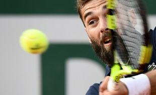 Benoît Paire, vainqueur du Roumain Marius Copil, le 27 mai 2019 à Roland-Garros.