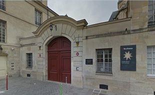 Le lycée Charlemagne à Paris.