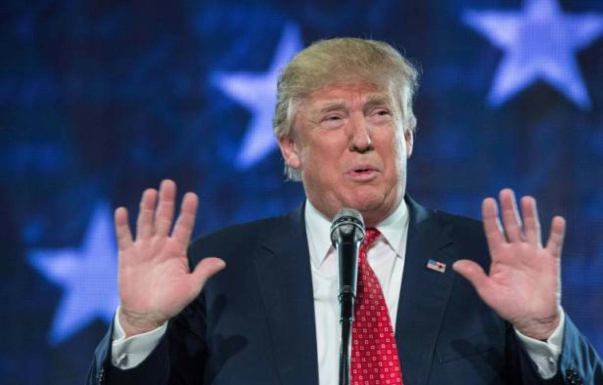Donald Trump, le 18 janvier 2016 à Lynchburg, en Virginie – NICHOLAS KAMM AFP