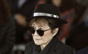 Yoko Ono à Chicago, le 12 juin 2012