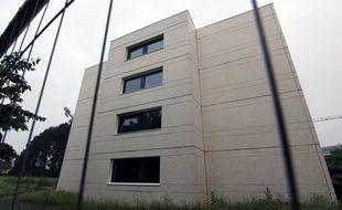 L'extérieur de la résidence Pascal, sur le campus Supelec Rennes, où un incendie a coûté la vie à l'étudiant Youssef Rabah.
