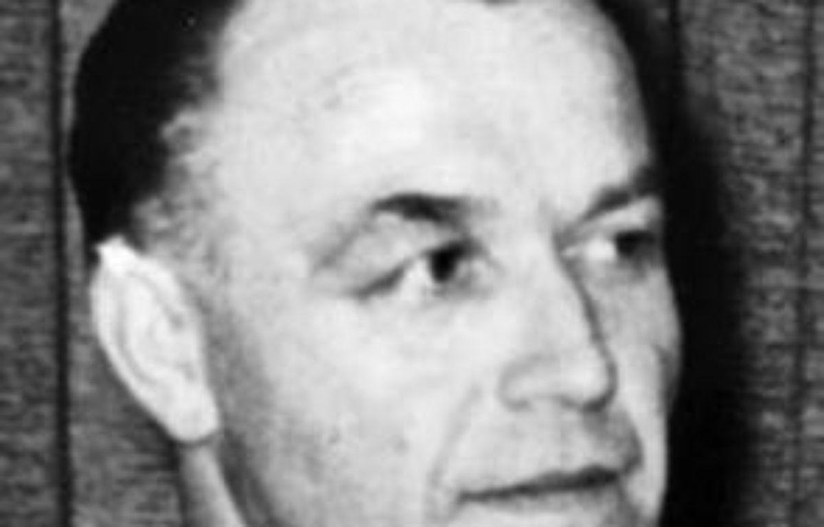 """Le """"médecin de la mort"""" Aribert Heim, l'un des criminel nazis les plus recherchés au monde et qui avait disparu depuis un demi-siècle, est mort en 1992 en Egypte où il vivait caché sous l'identité d'un musulman, a révélé la télévision allemande ZDF mercredi soir. –  AFP/Lka-Baden-Wuerttemberg/Archives"""