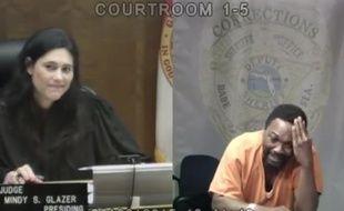 La juge et l'accusé ne s'étaient plus croisés depuis le collège...