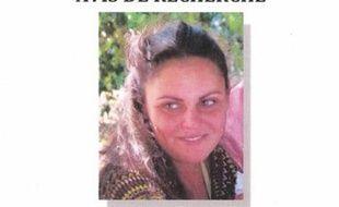 Capture d'écran de l'avis de recherche diffusé après la disparition de Coralie Moussu, à Vénéjan, dans le Gard, le 6 novembre dernier.