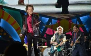 Le chanteur des Rolling Stones Mick Jagger sur scène lors du concert à La Havane, le 25 mars 2016