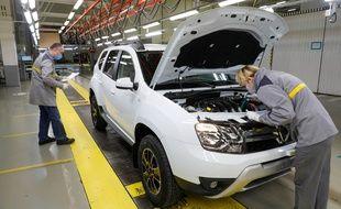 Une usine Renault en Russie (image d'illustration).