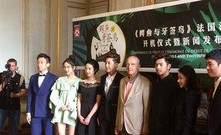 L'équipe de tournage de la série chinoise a été reçue à la mairie de Bordeaux.